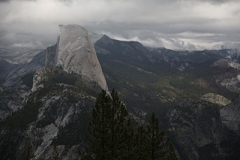 Half Dome de Profile