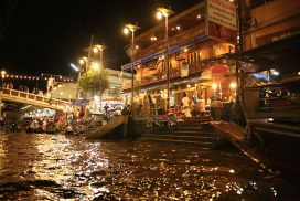Train & Floating Market